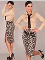 Fashion Taille Rok met Riem Leo