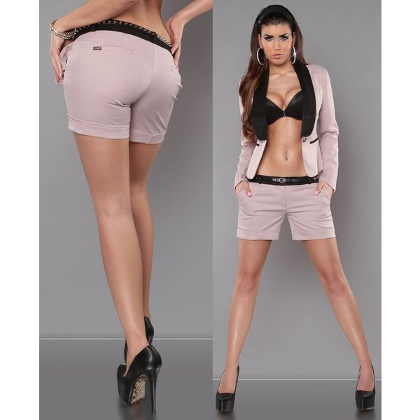 Fashion Short met Riem Antieque Pink