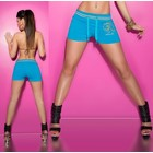 Fashion Short met KouCla Logo Turquoise