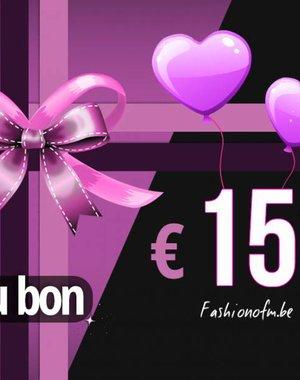 Cadeaubon € 150