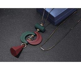 Asymmetrische Hanger Ketting