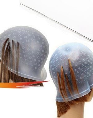 Herbruikbare Siliconen Kappershoed Transparant