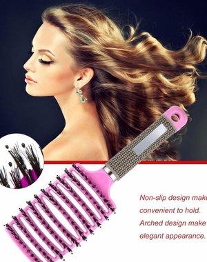 Styling Haarborstel Licht Purple