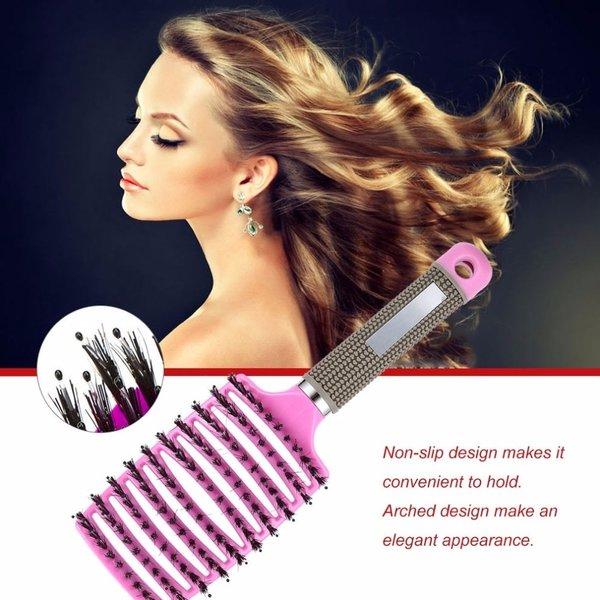 Styling Haarborstel / Massage Borstel Licht Purple