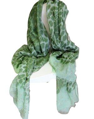 Soepelzachte Sjaal Groen