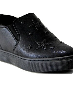 Fashion Slip-On Sneakers Zwart