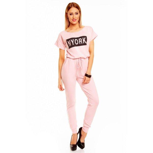 "Lange Fashion Jumpsuit ""NYORK"" Roos"