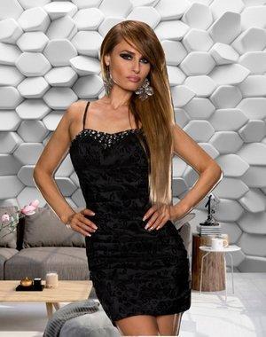 Mooi & Elegant Fashion Jurk Zwart