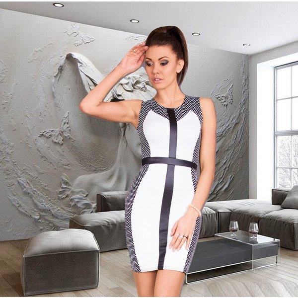 Mooi & Elegant Fashion Jurk Wit