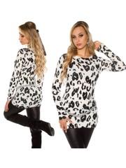 Knuffelzachte Fashion Pullover Wit