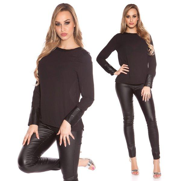KouCla Fashion Blouse Zwart