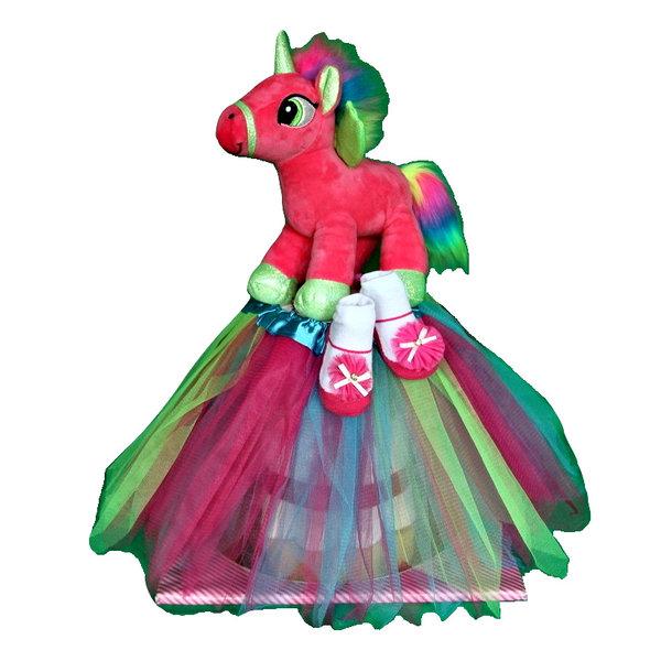 """Eigen merk Pampertaart / Luiertaart met """"My Little Pony"""""""