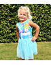 Disney Princess Jurk Cinderella Turquoise Blauw