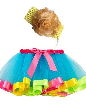 Meisjes Tutu Rok met Haarstrikje 2-4 jaar