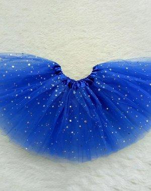 Meisjes Tutu Rok Blauw 4-6 jaar