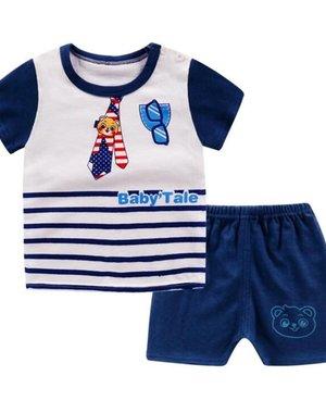 2-Delige Baby Zomer Kleding Setje 12-18 maanden