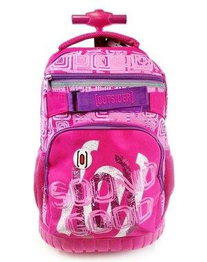 Outsider Trolley / Rugtas Pink 48,0x34,5cm