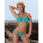SeXy Bikini Set in Halter Model Turquoise
