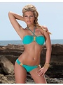 SeXy Bikini Set in Halter Model Turquoise