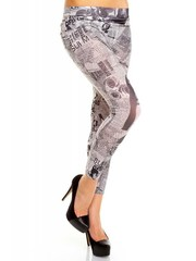 Trendy Legging met Print