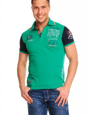 Poloshirt van The Red Bridge Groen