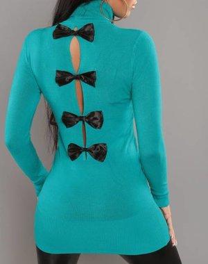 Trendy Fashion Rolkraagtrui Saffier