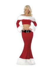 3-delig Kerstmis Kostuum Rood