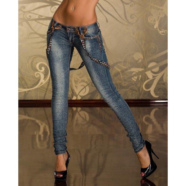 Trendy Jeans met Opvallend Design