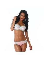 Neckholder Push-Up Bikini Set Roos