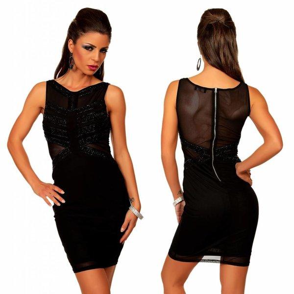Elegante Fashion Jurk Zwart