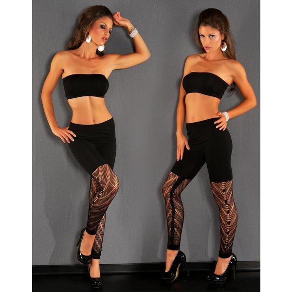 Zwarte Legging van Stretch