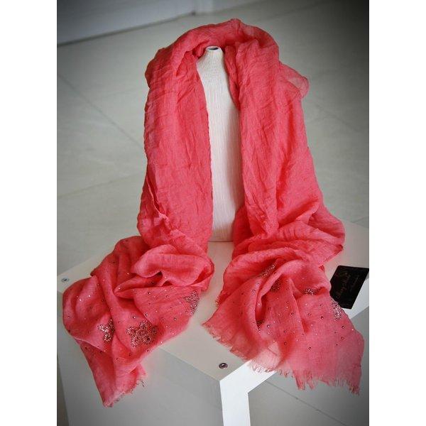 Soepelzachte Sjaal Coral