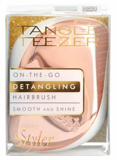 Tangle Teezer Tangle Teezer® Compact Styler Rose Gold Cream