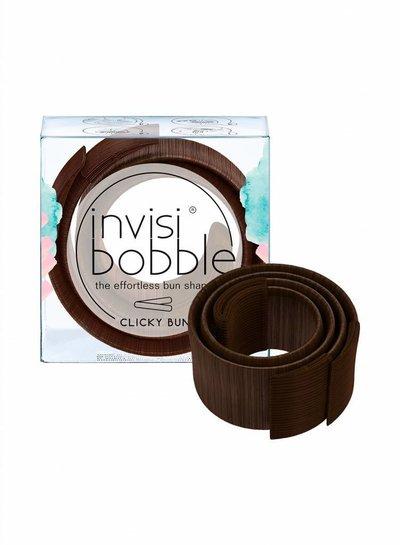 invisibobble invisibobble® CLICKY BUN Pretzel Brown