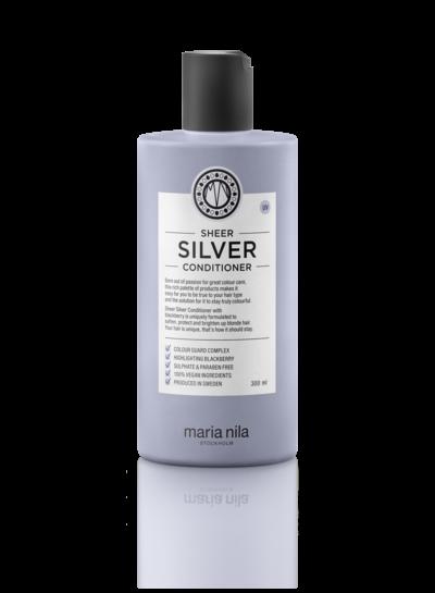 Maria Nila Maria Nila Beauty Bag Sheer Silver
