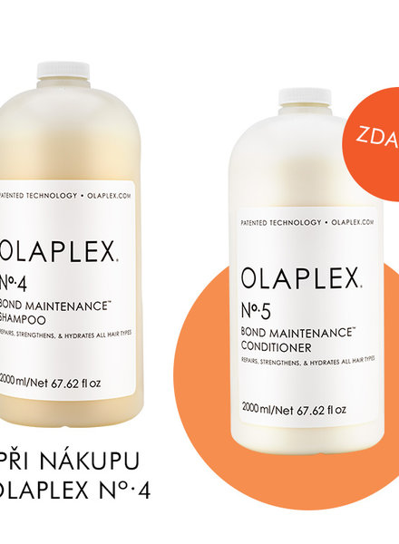 Olaplex Olaplex No.4 Bond Maintenance Shampoo (2000ml) + zdarma Olaplex No.5 Bond Maintenance Conditioner (2000ml)