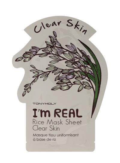 Tonymoly Tony Moly I'm Real Rice Sheet Mask