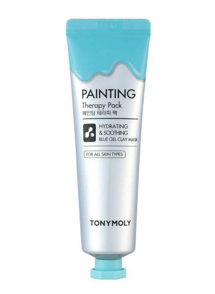 Tonymoly Painting Therapy Pack Hydrating & Soothing (blue)