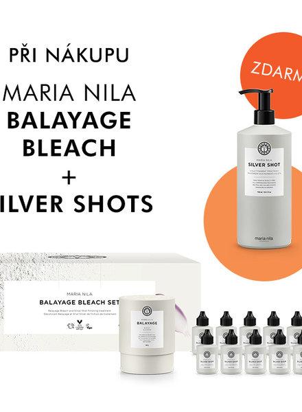Maria Nila Maria Nila Balayage Bleach + Silver Shots+ Silver shot 750 ml zdarma