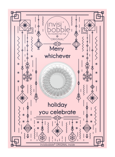 invisibobble invisibobble® Wishlist Greeting Card Merry Holidays