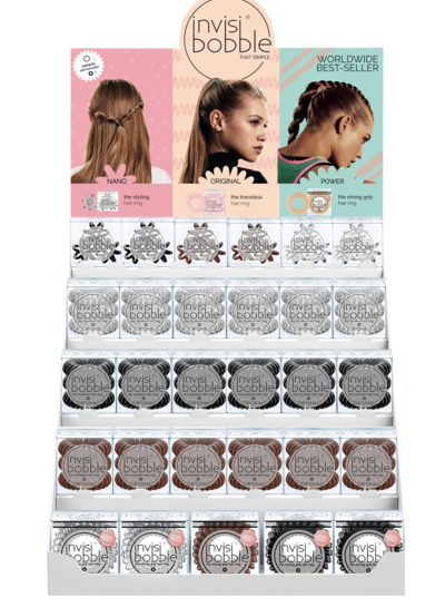 invisibobble invisibobble® MIXED display prázdný