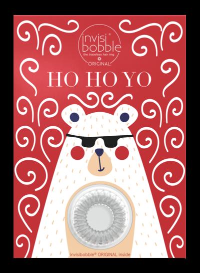 invisibobble invisibobble® Wishlist Greeting Card Ho Ho Yo
