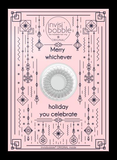 invisibobble invisibobble® Wishlist Greeting Card Merry Holidays