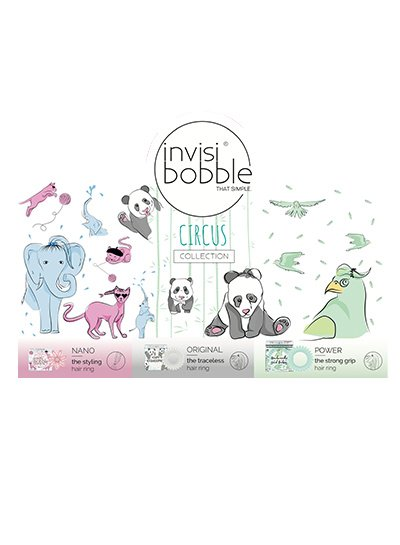 invisibobble® Mixed Starter Set Collection Circus