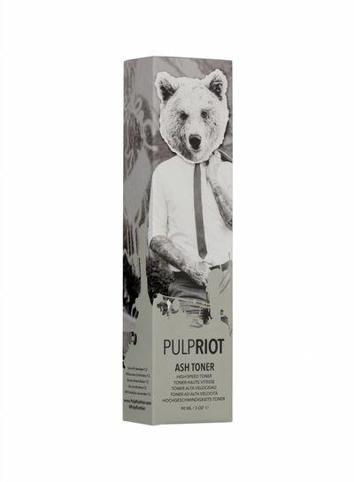 Pulp Riot Couleur Cendrée - Base Vert Olive - Toner Grande Vitesse