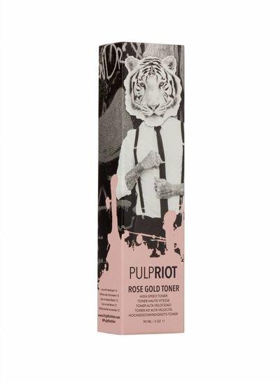 Pulp Riot Couleur Rose Gold - Base Rouge / Dorée - Toner Grande Vitesse