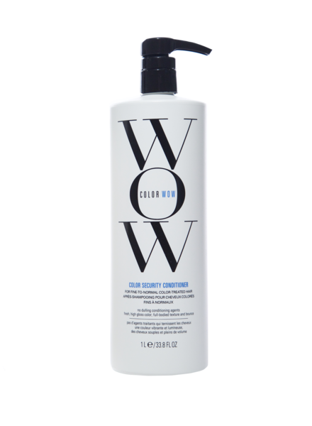 Color WoW Color WoW Conditioner Color Security - Cheveux Fins-Normaux 1000ml