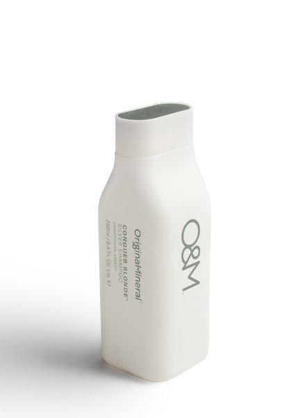 O&M - Original Mineral O&M Conquer Blonde Silver Shampoo - 250ml