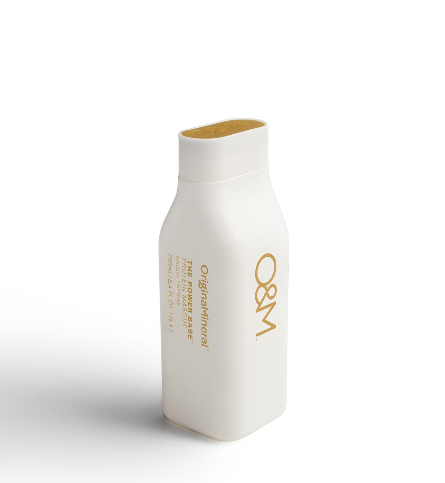 O&M - Original Mineral O&M The Power Base Protein Masque - Le Masque protéiné Power Base - 250ml