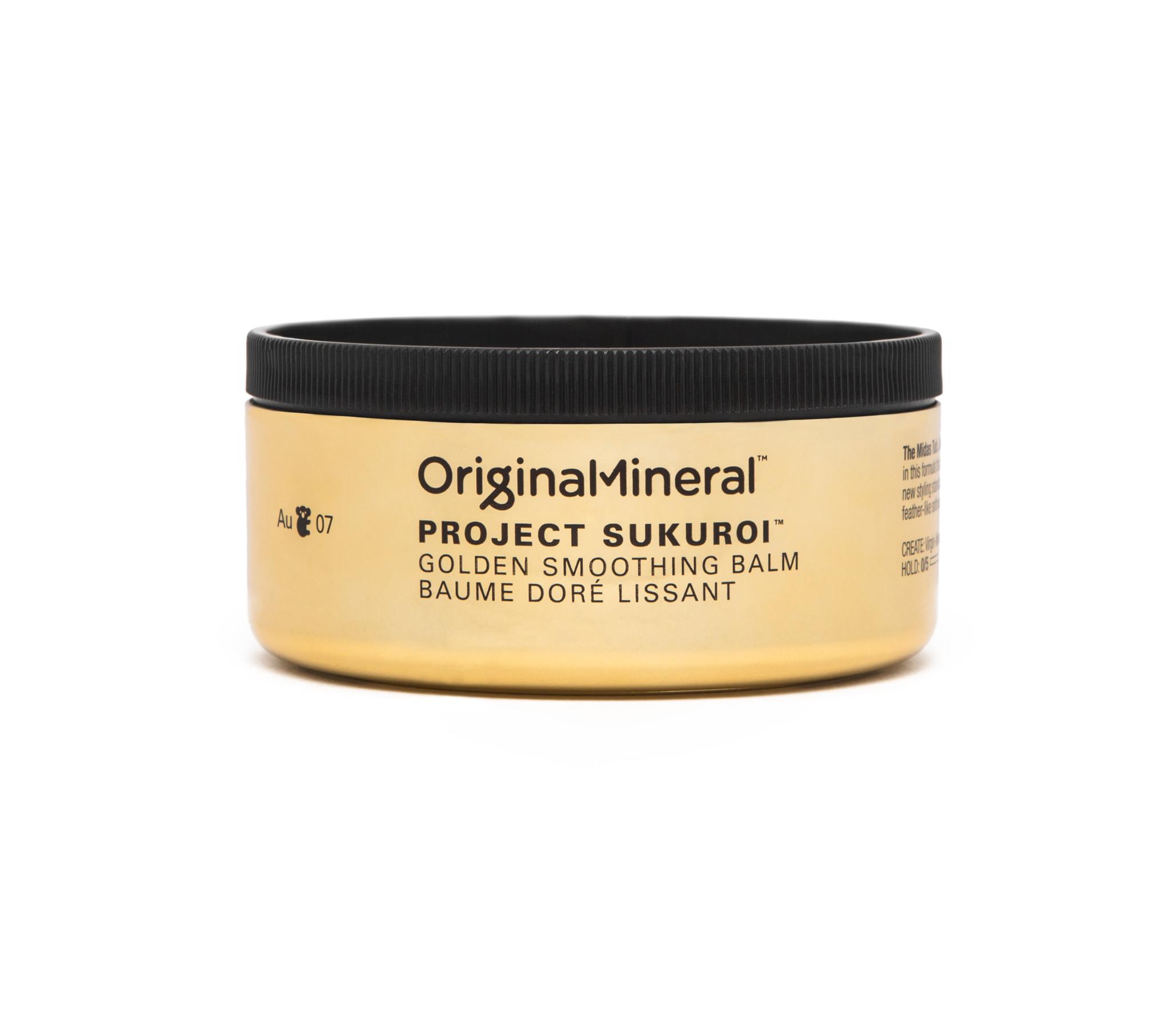 O&M - Original Mineral O&M Project Sukuroi Gold Smoothing Balm - Baume doré lissant - 100g
